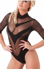 No Place to Run - Black Bodystocking