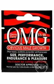 Obvious Male Growth Edible Powder Penis Enhancer