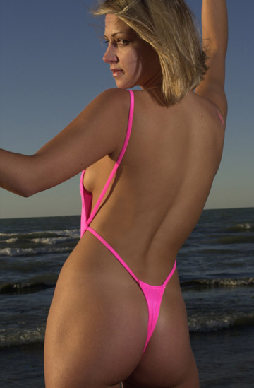 One-Piece Thong Bikini