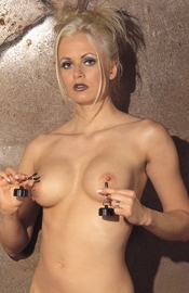 Pair of Nipple Clamps with 100 gr. Weights