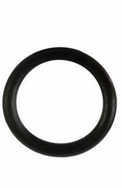 Rubber Ring  Black Medium - Sex Toy