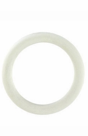 Rubber Ring  White Medium - Sex Toy