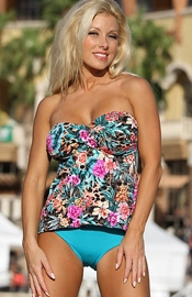 Salt Creek Beach - Floral Tankini