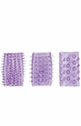 Senso Rings-3 Pack Purple - Sex Toy
