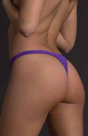 Sexy in Violet - Micro Cut Thong
