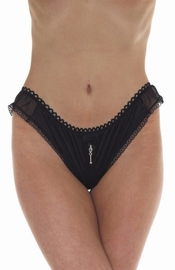 Shooting Scars - Sheer Crotchless Briefs