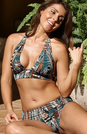 Silver Strand Beach - Halter Swimsuit