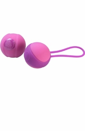 Stella I Kegel Balls in Raspberry Pink
