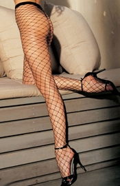 Stretch Wide Net Fishnet Pantyhose