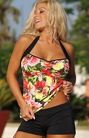 West Street Beach - Floral Tankini Swimsuit