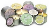 "Aromatherapy Candles - 2.5"" Tins"