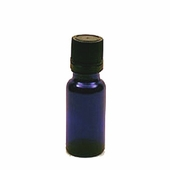Blue Cobalt Bottle - 1/2 oz