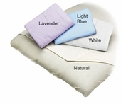 White Fitted Flannel Massage Table Sheet
