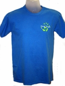 Power of Touch Crew Neck Massage Therapist T-Shirts