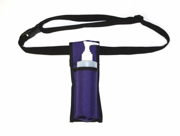 Single Holster w/8oz bottle and pump