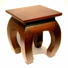 Accent Table or Altar - Square Solid Pine
