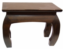 Accent Table or Home Altar - Solid Pine Wood