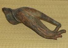 "Bronze Buddha Hand - Small ""Vitarka Mudra"" Teaching Gesture - Unmounted"