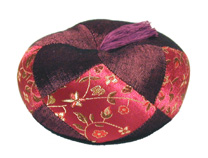 Gong Cushion - Singing Bowl Cushion - Medium