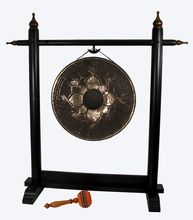 Gong Stand - Wood - Extra Large - DISCONTINUED