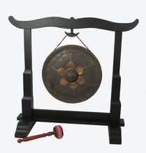 Gong Stand -  Wood - Medium