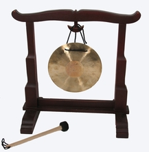 Gong Stand - Wood - Small