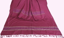 Hand-Loomed Ikat Pattern Shawls - Pure Organic Cotton