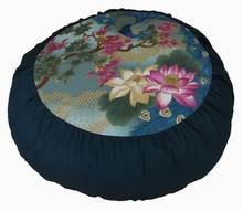 "Meditation Cushion - Limited Edition Zafu ""Empress Garden"""