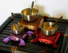 Singing Bowl Sets - Spun Brass Rin Gong