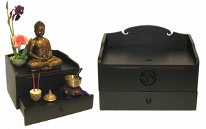 The OM Home Altar Box