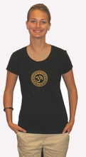 Women's Tee Shirts - Silk-screened Sacrad Symbols - 100% Organic Cotton