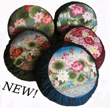 Zafu Meditation Cushion - Lotus Designer Collections - One-of-a-Kind & Limited Editions