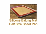 Baking Mat 1/2 Size Sheet pan  Non-Stick Silicone Heavy Duty 13x18