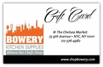 Bowery Kitchen Gift Card $200.00
