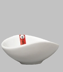 "BOWL 3.75X3.25X1.5"" OVAL WHITE / MIN 6 PCS TO SHIP"