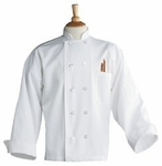 CHEF COAT WHITE