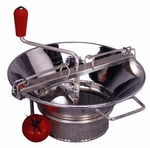 Eight  Quart  Stainless  Mill - With 3mm Grill.