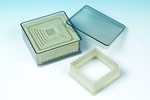 NYLON CUTTER SET BOXED FLUTED SQUARE 9 PC SET