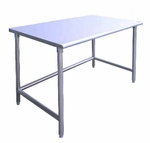 Open Base Work Tables