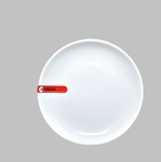 "PLATE 6"" ROUND WHITE MIN 6 PCS TO SHIP"
