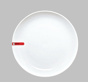 "PLATE 9.5"" ROUND WHITE / MIN 4 PCS TO SHIP"