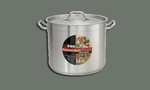 "S/S STOCK POT 8 QT W/COVER 9 1/2""x6 3/4"