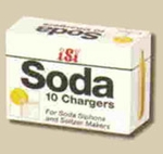 soda chargers 10 pck