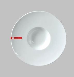 "SOUP PLATE 9.25"" WHITE  / MIN 4 PCS TO SHIP"