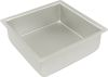 SQUARE CAKE PAN SOLID BOTTOM 6 X 6 X 2""