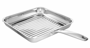 "Square Grill Pan 11"" SS PRO    ""NOT Available"""