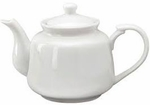 TEA POT 12 OZ WHITE