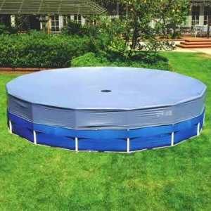 16 Ft Intex Round Frame Pool Cover