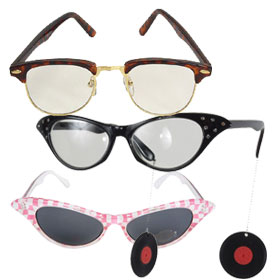 50s Costume Glasses