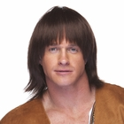 70s Brown Sonny Bono Style Wig
